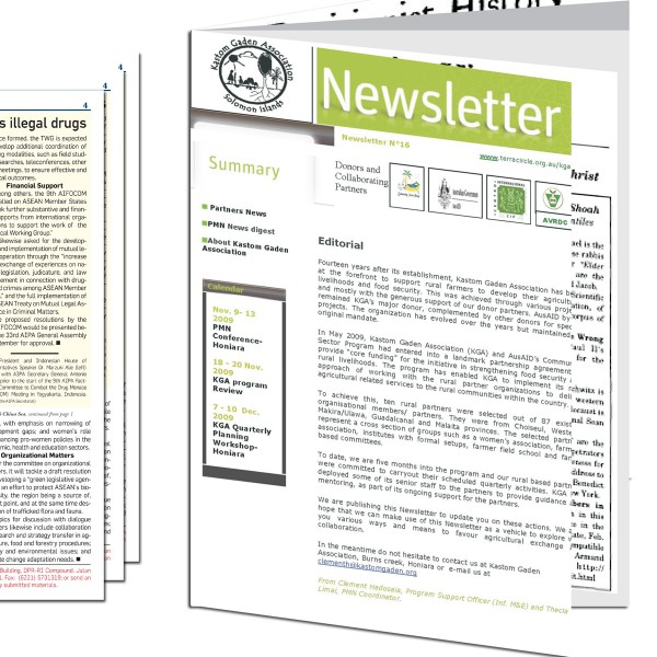 16 Page Newsletters
