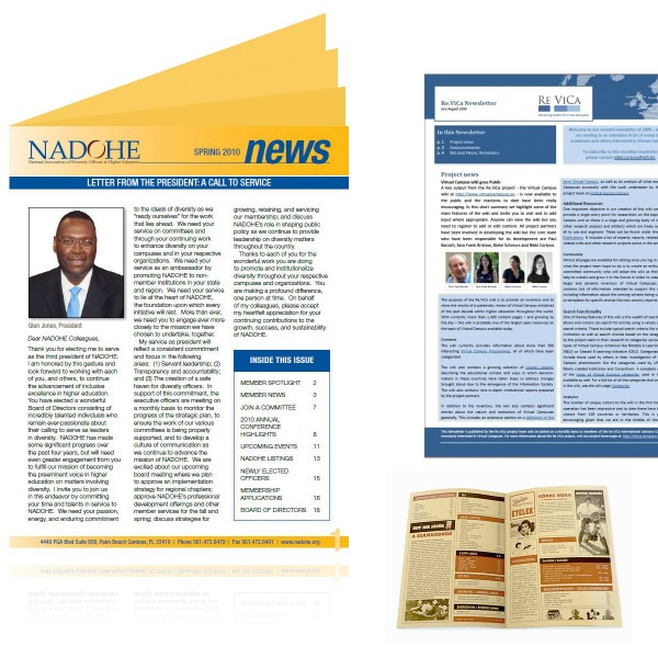 4 Page Newsletters