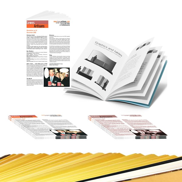 8 Page Newsletters