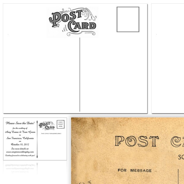 Flat Post Cards