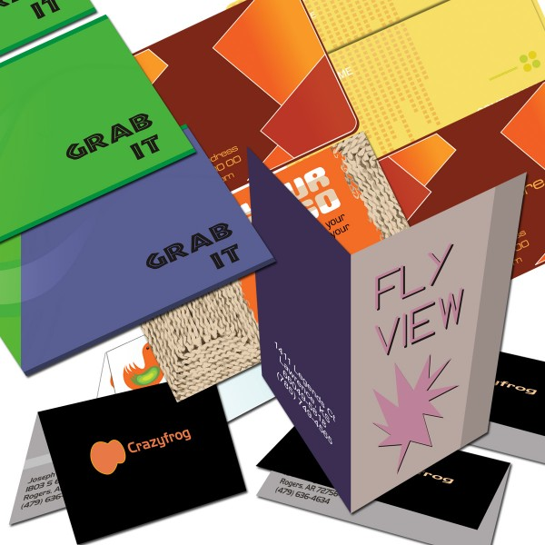 Folded Business Cards 3