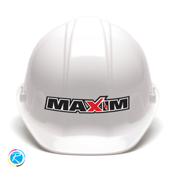 Hard Hat Stickers Printing