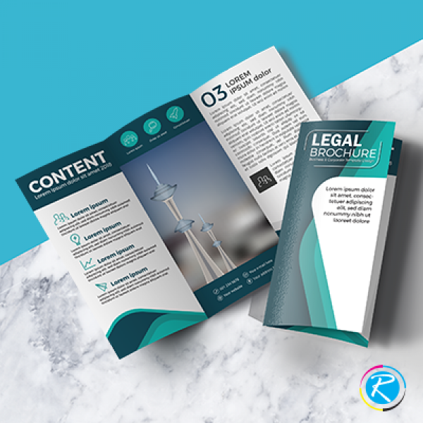 Legal Size Brochures