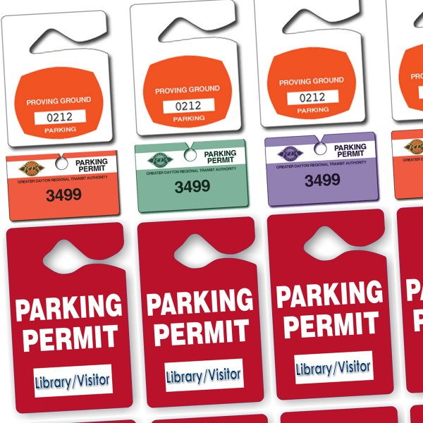Parking Tags