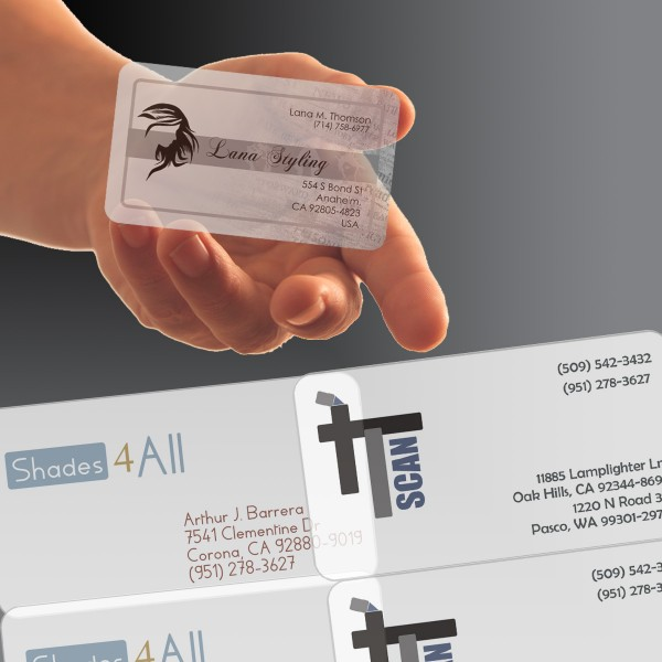 Plastic Business Cards 3