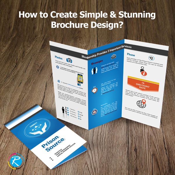 create simple and stunning brochure design