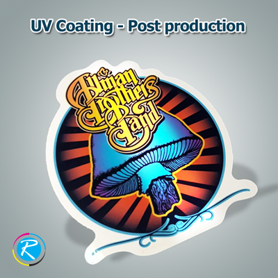 UV Coating Types for Stickers